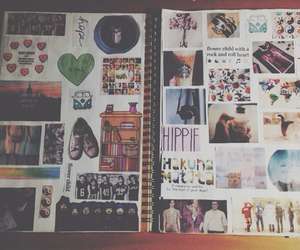 book, hipster, and notebook image