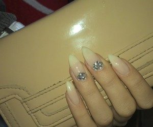 long, nails, and ombre image