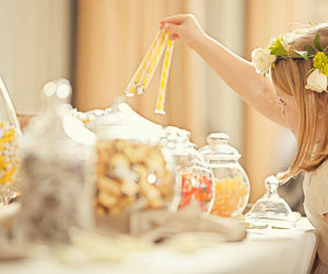candy and girl image