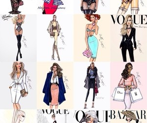 fashion, vogue, and hayden williams image