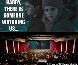 harry potter, funny, and hermione image