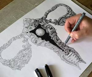 cool, draw, and steam punk image