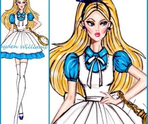 hayden williams, alice, and alice in wonderland image