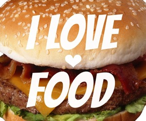eat, eating, and fastfood image