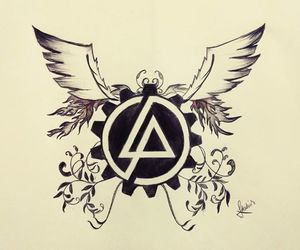 linkin park, art, and doodles image