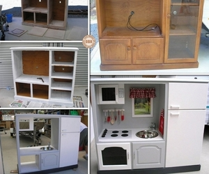 dollhouse, kids, and recycle image