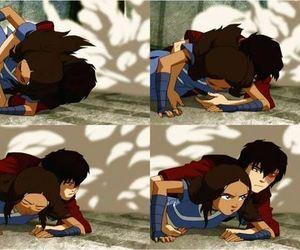 anime, zuko, and katara image