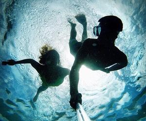 adventure, ocean, and swim image