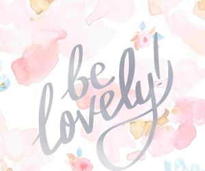 lovely, wallpaper, and quotes image