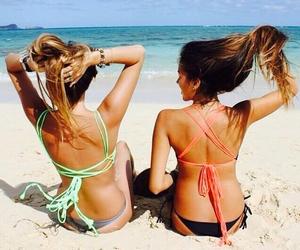 beach, chic, and girls image