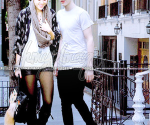 edited, justin, and miley image