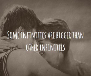 love, infinity, and the fault in our stars image