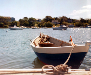 boat, sea, and summer image