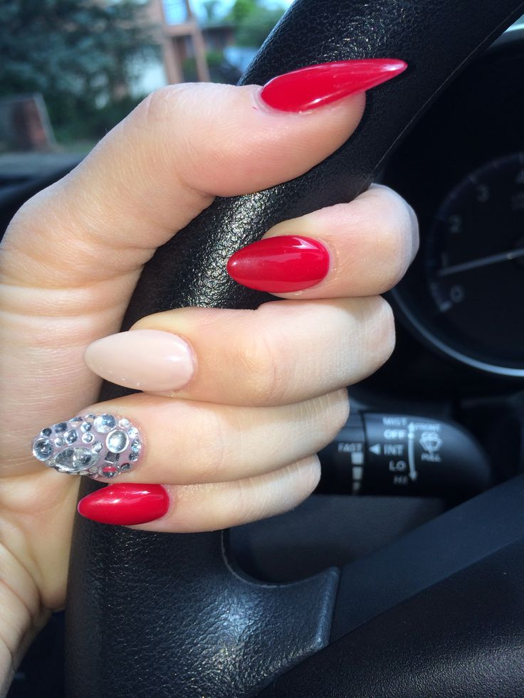 Image About Red In Nails By P On We Heart It
