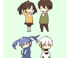 kagerou project, haruka, and konoha image