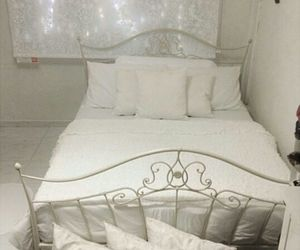 bed, bedroom, and decorations image