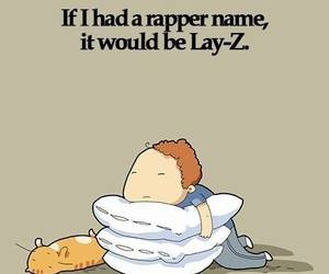 Lazy, rapper, and sleep image
