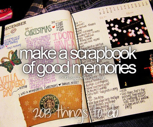 memories, scrapbook, and before i die image