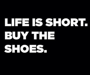 girl, life, and shoes image