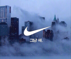 nike, building, and city image