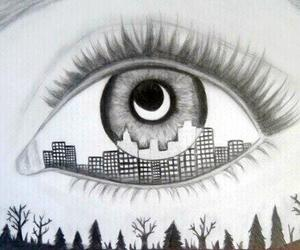 eye, art, and city image