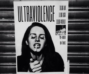 lana del rey, ultraviolence, and cigarette image