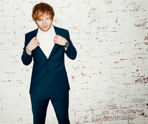 ed sheeran, sexy, and suit image