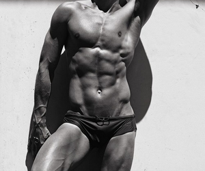 awesome, black and white, and Hot image