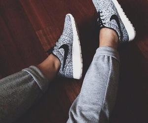 black and white, popular, and sneakers image