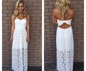 lace dress, maxi dress, and spring image