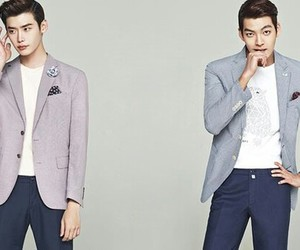 kim woo bin, lee jong suk, and model image