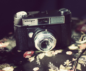 analog and camera image