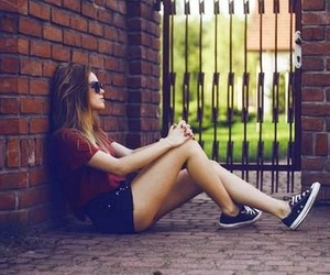 alone, beauty, and fashion image