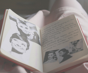 audrey hepburn, diary, and photography image