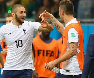france, world cup, and benzema image