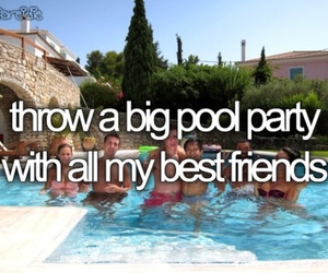 party, before i die, and pool image