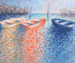 art, beautiful, and boats image