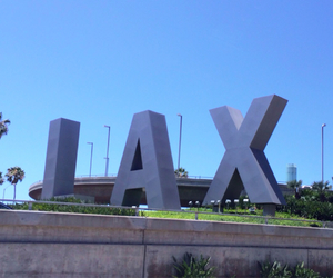 airport, california, and LAX image