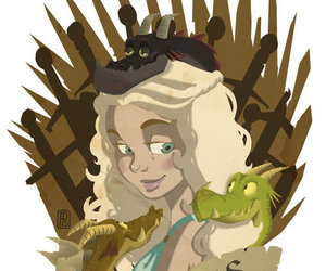 fanart, game of thrones, and game of thrones fanart image