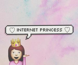 princess, internet, and emoji image