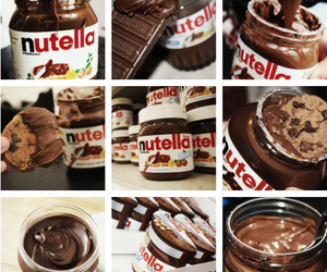 nutella, cute, and cupcake image