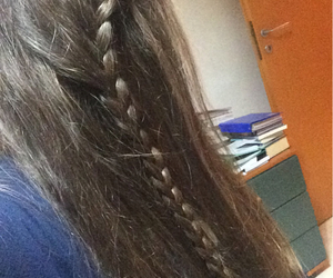braid, hair, and me image