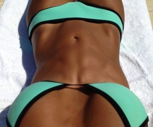 summer, bikini, and fit image