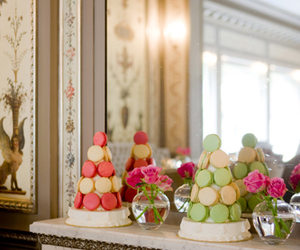 laduree, macarons, and shops image