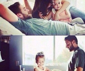 family, baby, and love image