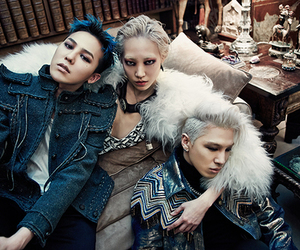 bigbang, taeyang, and g dragon image