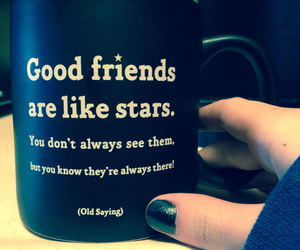 stars, friends, and friendship image