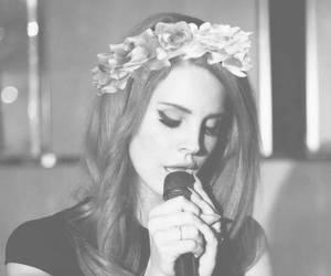 beautiful, singer, and lana del rey image