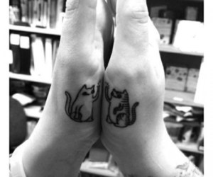 best friend, hand, and twin image