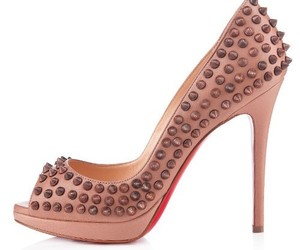 red bottom heels, red sole pumps, and shoes with red soles image